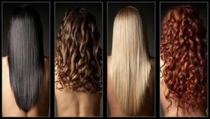 Волосы могут быть разными